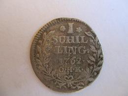 Germany: Hamburg 1 Schilling 1762 - Kleine Munten & Andere Onderverdelingen