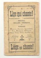 """Recueil Wallon - Français """" Lîge Qui Chante """" Liège - Recit, Chanson, Fable, Nouvelle,... - Cultural"""