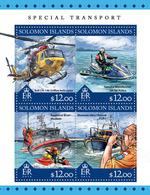 SOLOMON Isl. 2016 - Jet Ski Yamaha - YT CV=19 €, 3229-32 - Jet Ski