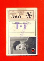 TROLLEYBUS TICKET-BEOGRAD-YUGOSLAVIA-1952 - Europa