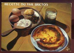CPM Non écrite Recette De Cuisine Le Far Breton - Recettes (cuisine)