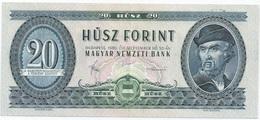 20 FORINT 1980 - Hungary
