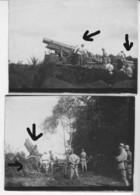 Armée Française  France 14 ARTILLERIE LOURDE à Chenille Obusier - Guerre, Militaire