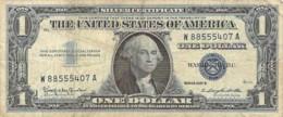 Etats Unis United States U.S.A. One 1 Dollar Washington Silver Certificate Series 1957 B - Silver Certificates – Títulos Plata (1928-1957)