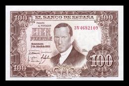 España Spain 100 Pesetas Julio Romero De Torres 1953 Pick 145 Serie 3V SC UNC - 100 Peseten