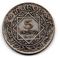 Maroc  -  5 Francs 1352  -  état  TTB - Maroc