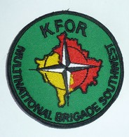 DISTINTIVO Patch - KFOR - Multinational Brigade Southwest - Esercito Italiano - Usato - Originale (182) - Army