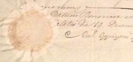 BOLOGNA GOVERNO PONTIFICIO - 19/12/1853 - DOCUMENTO IN BOLLO CON SIGILLO E FIRMA DEL CARDINALE OPPIZZONI - Historical Documents