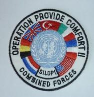 DISTINTIVO Patch - OPERATION PROVIDE COMFORT II - SILOPI - COMBINED FORCES - Esercito Italiano - Usato - Originale (182) - Army