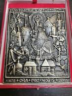 Luxembourg Médaille, Consolatrix Afflictorum 13x11.5 - Andere