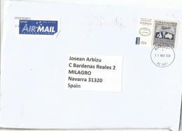 AUSTRALIA CC CON SELLO FIRST AERIAL POST CORREO AEREO - 2010-... Elizabeth II