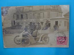 """60 ) Compiègne - Carte Photo - Automobile SIZAIRE Et NAUDIN """" Garage """" Bureau De L'octroi  - Année 1907  :  EDIT : - Compiegne"""