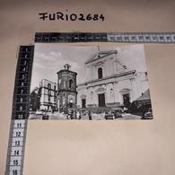 C-92381 TORRE DEL GRECO PIAZZA SANTA CROCE BASILICA PONTIFICIA PANORAMA AUTO D'EPOCA ANIMATA - Torre Del Greco