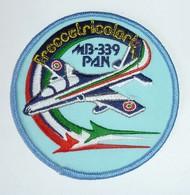 DISTINTIVO Patch - FRECCE TRICOLORI - MB339-PAN - Aeronautica Militare - Usato - Originale (182) - Airforce