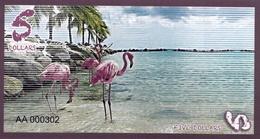 Aldabra Islands 5 Dollars 2019 UNC - Ficción & Especímenes