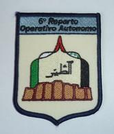 DISTINTIVO Patch - 6° Reparto Operativo Autonomo - Esercito Italiano - Usato - Originale (182) - Army