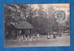 CPA - CHAMPROSAY / DRAVEIL - Sanatorium Minoret - 1906 - Kiosque Des Petites Filles - Défaut D' Impression Au Verso - Postcards