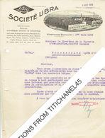 Brief 1929 - GLIESMARODE-BRUNSWICK - SOCIETE LIBRA - Fabrique De Balances - Non Classés