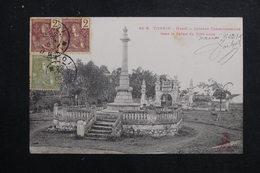 VIETNAM - Carte Postale - Tonkin - Hanoï - Colonne Commémorative Dans Le Palais Du Kinh Luoc,  Voyagé En 1908 - L 61569 - Vietnam
