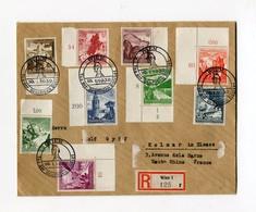 !!! PRIX FIXE : LETTRE RECOMMANDEE DE VIENNE DU 30/1/1939, CACHET COMMEMORATIF JOURNEE DE LA POLICE ALLEMANDE - Storia Postale