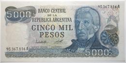 Argentine - 5000 Pesos - 1979 - PICK 305a.2 - NEUF - Argentina