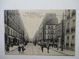 PARIS    -   LA  RUE  DE  WATTIGNIES  ..... .                TTB - Autres