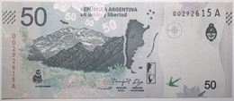 Argentine - 50 Pesos - 2018 - PICK 363a - NEUF - Argentina