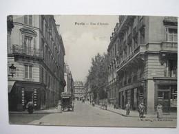 PARIS    -  RUE  D ' ARTOIS      ..... .TRES  ANIME                TTB - Autres