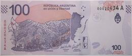 Argentine - 100 Pesos - 2018 - PICK 363 Aa - NEUF - Argentina