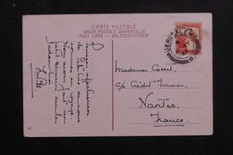 PALESTINE - Affranchissement De Jérusalem Sur Carte Postale En 1929 Pour La France - L 61574 - Palestina