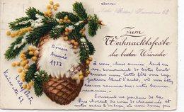 FÊTES VŒUX 400 : Carte Suisse , Bonne Année 1932 , Pigne  : édit. ? - Neujahr