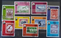 Paraguay 1979, Mi 3174-82 Gestempelt - Paraguay