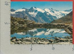 CARTOLINA VG ITALIA - COGNE (AO) - Lago Lauson E Ghiacciai Del Gran Paradiso - 10 X 15 - 1982 - Italy