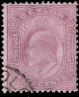 Ceylan 1904. ~  YT 158 - Edouard VII - Timbres