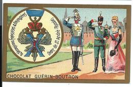 CHROMO ANCIEN  - Médaille Ordre De SAINT-ANDRÉ (RUSSIA) - Pub Chocolat Guérin-Boutron - Russie