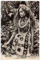 OCÉANIE TONGA  JEUNE-FILLE TONGIENNE EDIT. SŒURS MISSIONNAIRES - Tonga