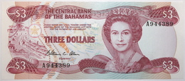 Bahamas - 3 Dollars - 1984 - PICK 44a - NEUF - Bahamas