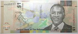 Bahamas - 1 Dollar - 2017 - PICK 77a - NEUF - Bahamas
