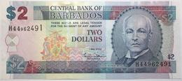 Barbades - 2 Dollars - 2007 - PICK 66a - SPL - Barbados