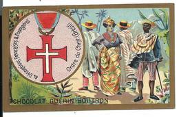 CHROMO ANCIEN  - Médaille Ordre Du CHRIST (BRASIL) - Pub Chocolat Guérin-Boutron - Autres