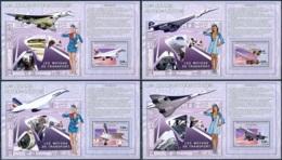 NB - [31308]SUP//**/Mnh-RD CONGO 2006 - Les Moyens De Transports - Avions. Le Concorde. Les 4 Blocs. - Ongebruikt