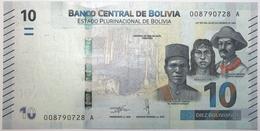 Bolivie - 10 Bolivianos - 2018 - PICK 248a - NEUF - Bolivien