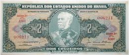 Brésil - 2 Cruzeiros - 1957 - PICK 157Ab - NEUF - Brasile