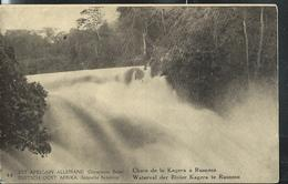 Carte Illustrée  N° 11. Vue: 44. Chute De La Kagera à Rusomo (obl. Kigoma 02/07/1918) - Ganzsachen