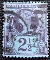Timbres De Grande-Bretagne N° 95 - Usati