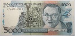 Brésil - 5 Cruzados Novos - 1989 - PICK 217b - NEUF - Brasile