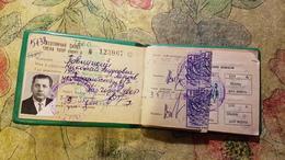 Soviet  Document - UKRAINE . ID Certificate  # 3123067 HUNTING TICKET. - 1977 - Historical Documents