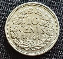 Netherlands 10 Cents 1941 - [ 3] 1815-… : Reino De Países Bajos