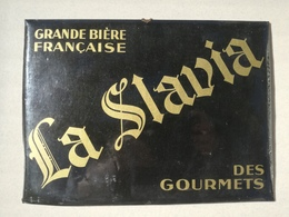 PLAQUE PUBLICITE CAFE BISTROT LA SLAVIA - Enseignes