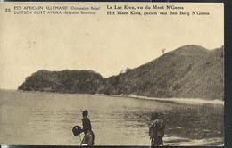 Carte Illustrée  N° 18. Vue: 25  Le Lac Kivu, Vu Du Mont N'Goma(obl. ???) - Ganzsachen